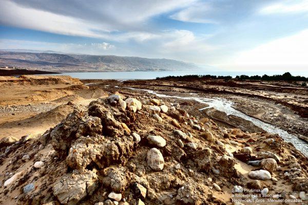 22u Jordanija. Negyvosios jūros Mėnulio peizažas