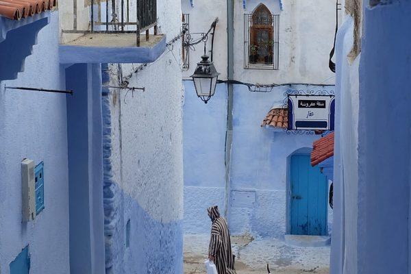 27u Marokas. Mėlynasis miestas Šefšauenas