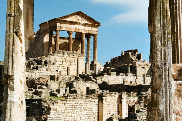6u Tunisas. Antikinis romėnų miestas Duga.